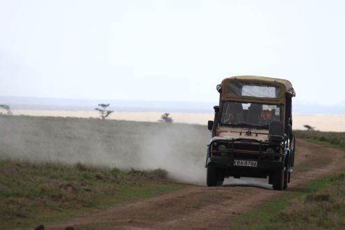 Driving in Kenya/Colin Styker