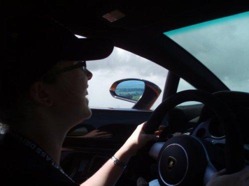 Driving the Gallardo Superleggera