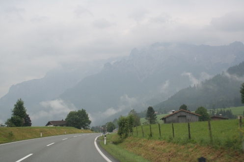 Breathing mountain air